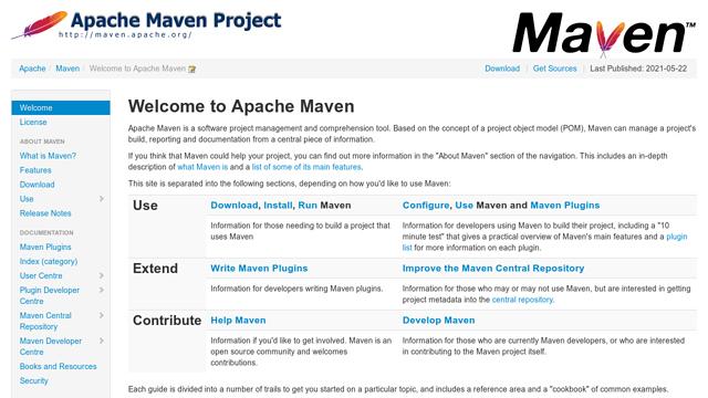 Maven API koppeling