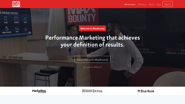 MaxBounty API koppeling