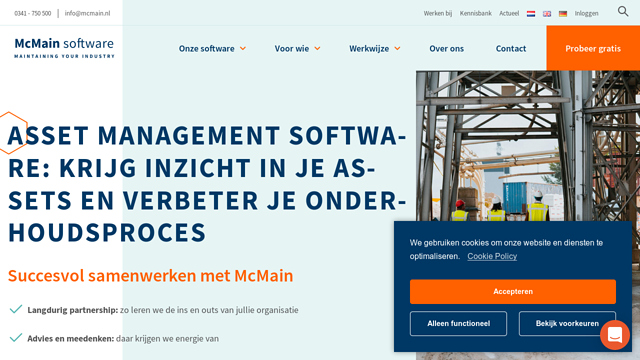 McMainSoftware API koppeling