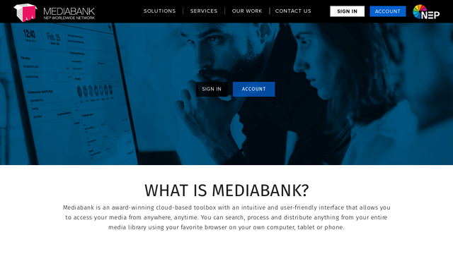 Mediabank API koppeling