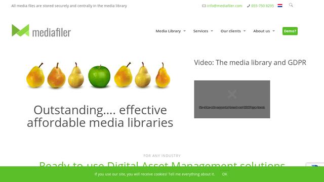 MediaFiler API koppeling