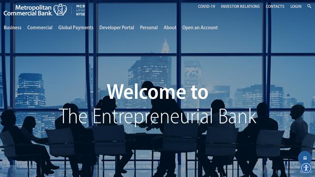 Metropolitan-Commercial-Bank API koppeling