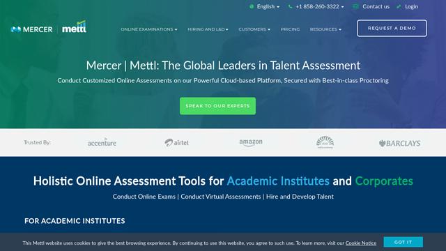 Mettl API koppeling