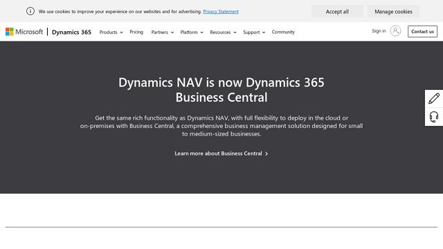 Microsoft-Dynamics-NAV API koppeling