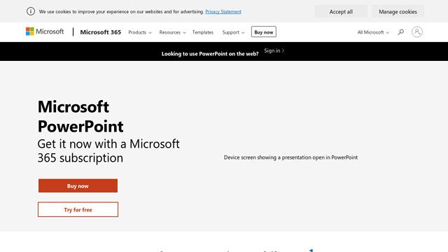 Microsoft-PowerPoint API koppeling