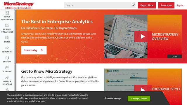 MicroStrategy API koppeling
