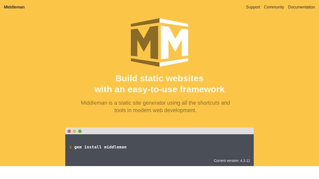 Middleman API koppeling
