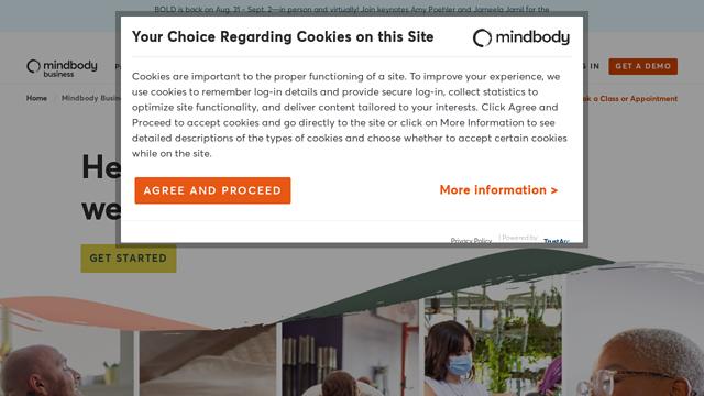Mindbody API koppeling