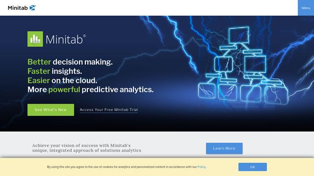 Minitab API koppeling