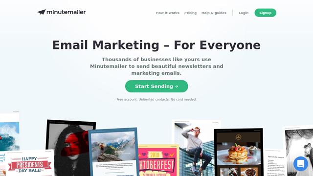 Minutemailer API koppeling