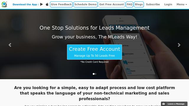 MLeads API koppeling