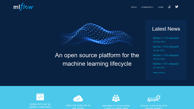 MLflow API koppeling
