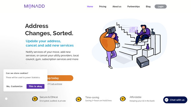 Monadd-App API koppeling