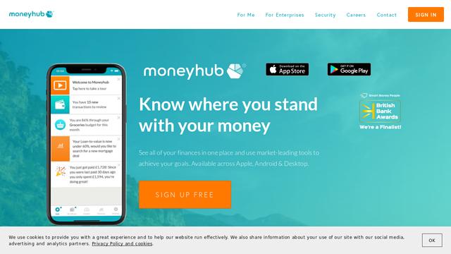 Moneyhub API koppeling