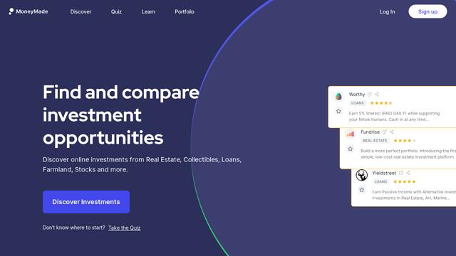 Moneymade API koppeling
