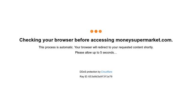 MoneySuperMarket API koppeling