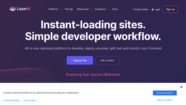 Moovweb API koppeling