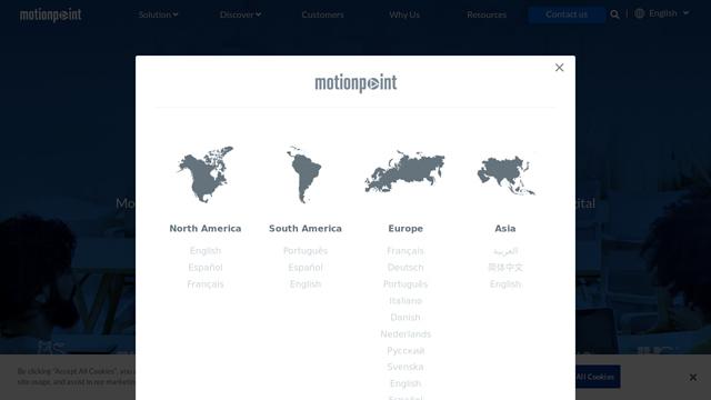 MotionPoint API koppeling