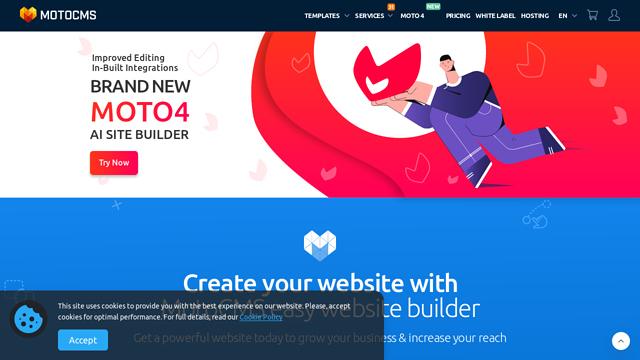 MotoCMS API koppeling
