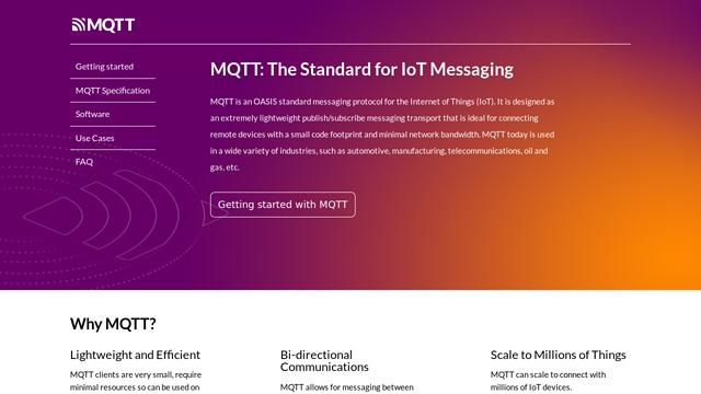 MQTT API koppeling