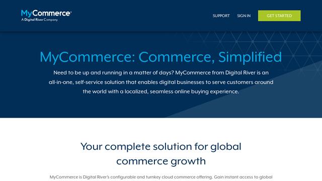 MyCommerce API koppeling