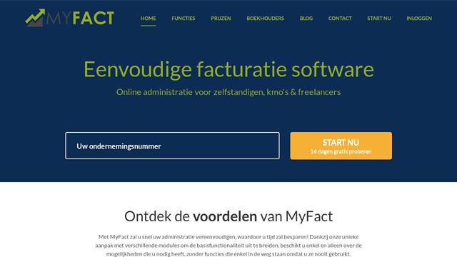 MyFact API koppeling