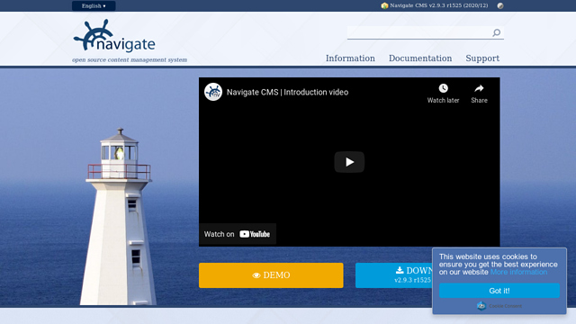 Navigate-CMS API koppeling