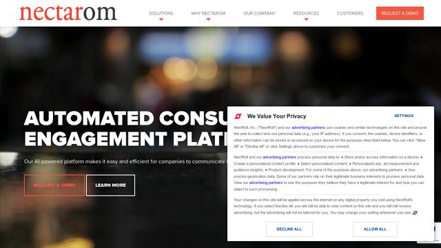 NectarOM API koppeling