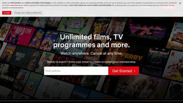 Netflix API koppeling