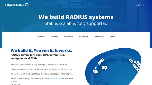 Network-RADIUS API koppeling