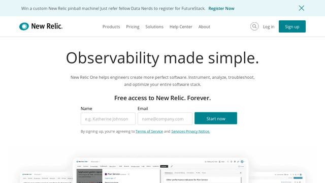 New-Relic-Insights API koppeling
