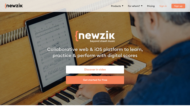 Newzik API koppeling