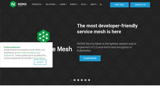 NGINX API koppeling