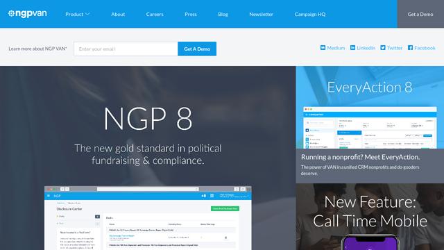 NGP-VAN API koppeling