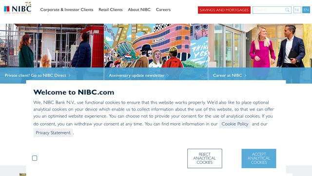 NIBC-Bank API koppeling