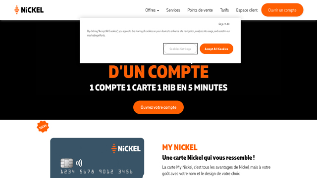 Nickel-(Compte-Nickel) API koppeling