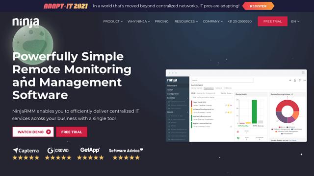 NinjaRMM API koppeling