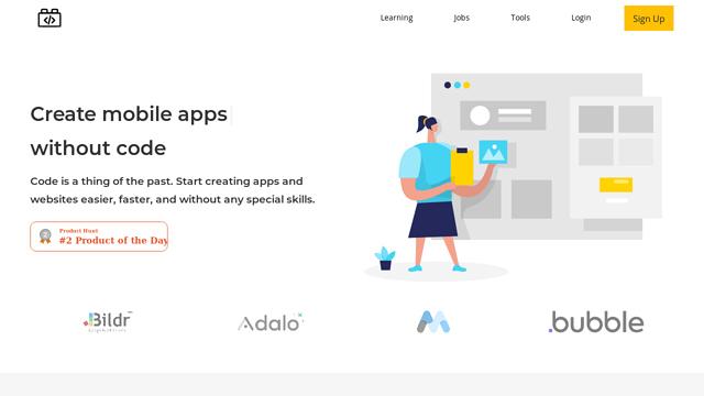 NoCodery API koppeling