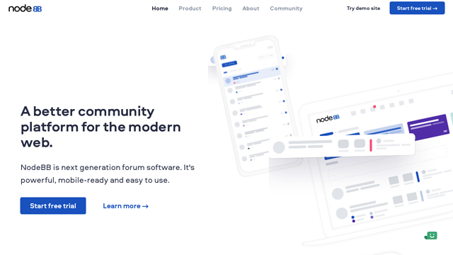 NodeBB API koppeling