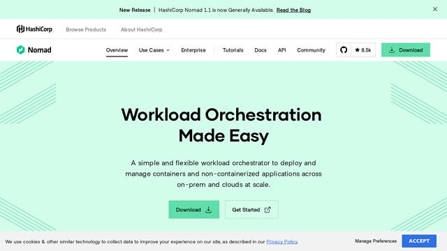 Nomad-by-HashiCorp API koppeling