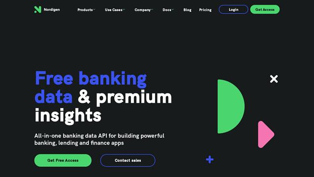 Nordigen API koppeling