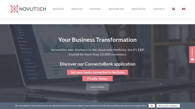 Novutech API koppeling