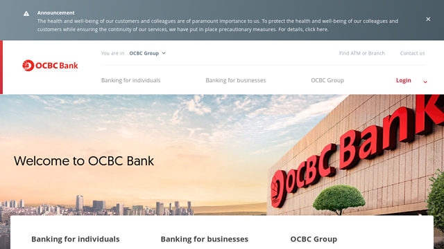 OCBC-Bank API koppeling
