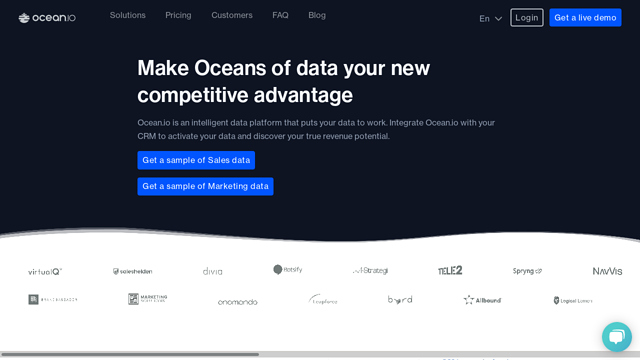 Ocean.io API koppeling