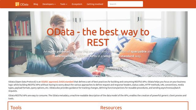 OData.org API koppeling