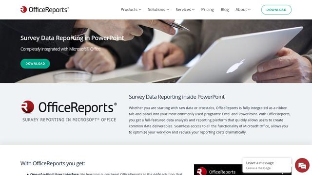 OfficeReports API koppeling