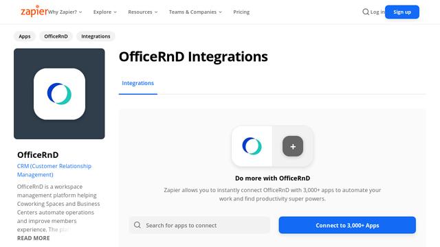 OfficeRnD API koppeling