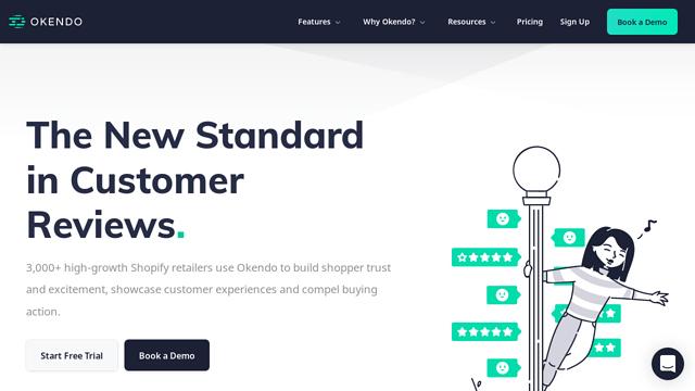 Okendo API koppeling