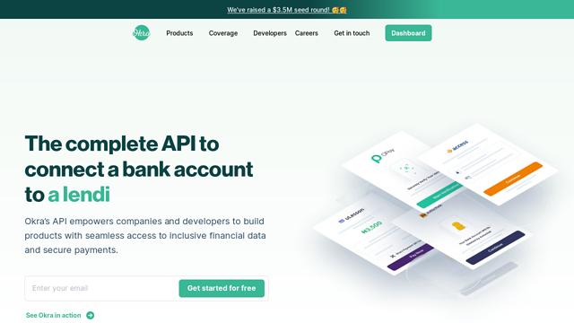 Okra API koppeling