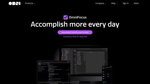OmniFocus API koppeling